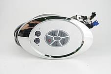 Блок управления, пульт душевой кабины кнопочный с радио ( Бу-17 ) Овальной формы., фото 3