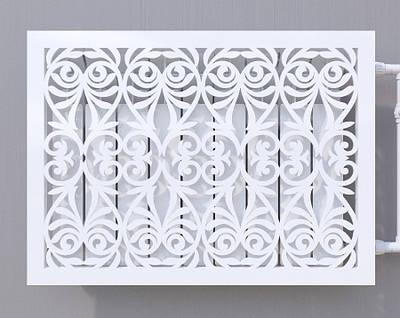 Декоративна решітка на батарею SMARTWOOD | Екран для радіатора | Накладка на батарею