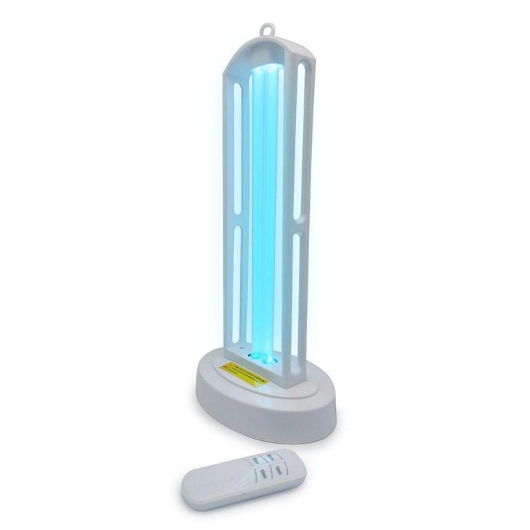 Кварцевая лампа УФ светильник KEN-101 UVC-38W Бактерицидная озоновая лампа с пультом дистанционного управления