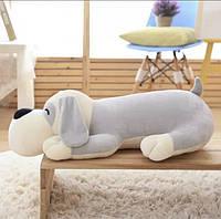 Детский плед-игрушка Собака (серая), фото 1