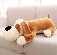 Детский плед-игрушка Собака (бежевая), фото 1