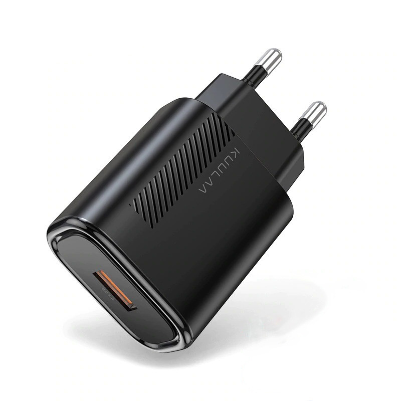 Зарядное устройство для телефона с быстрой зарядкой KUULAA, 18 Вт, QC 3.0