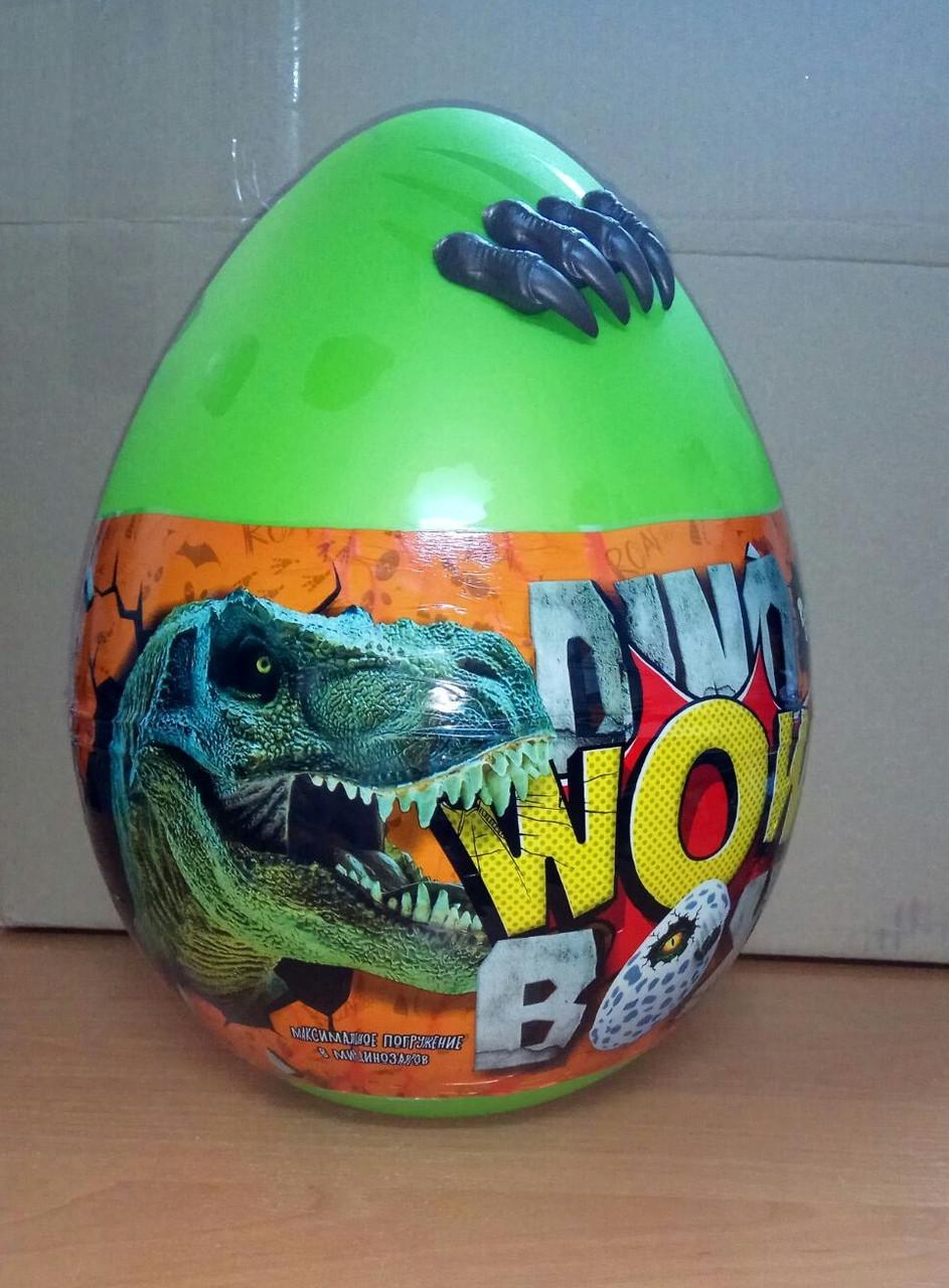 Игровой Набор Большое Яйцо Динозавра Dino WOW DWB-01-01 (зеленое)
