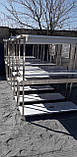 Стол с бортом и полкой  1000х600х850, фото 9