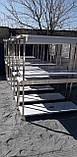 Стол с бортом и полкой  1000х600х700, фото 9