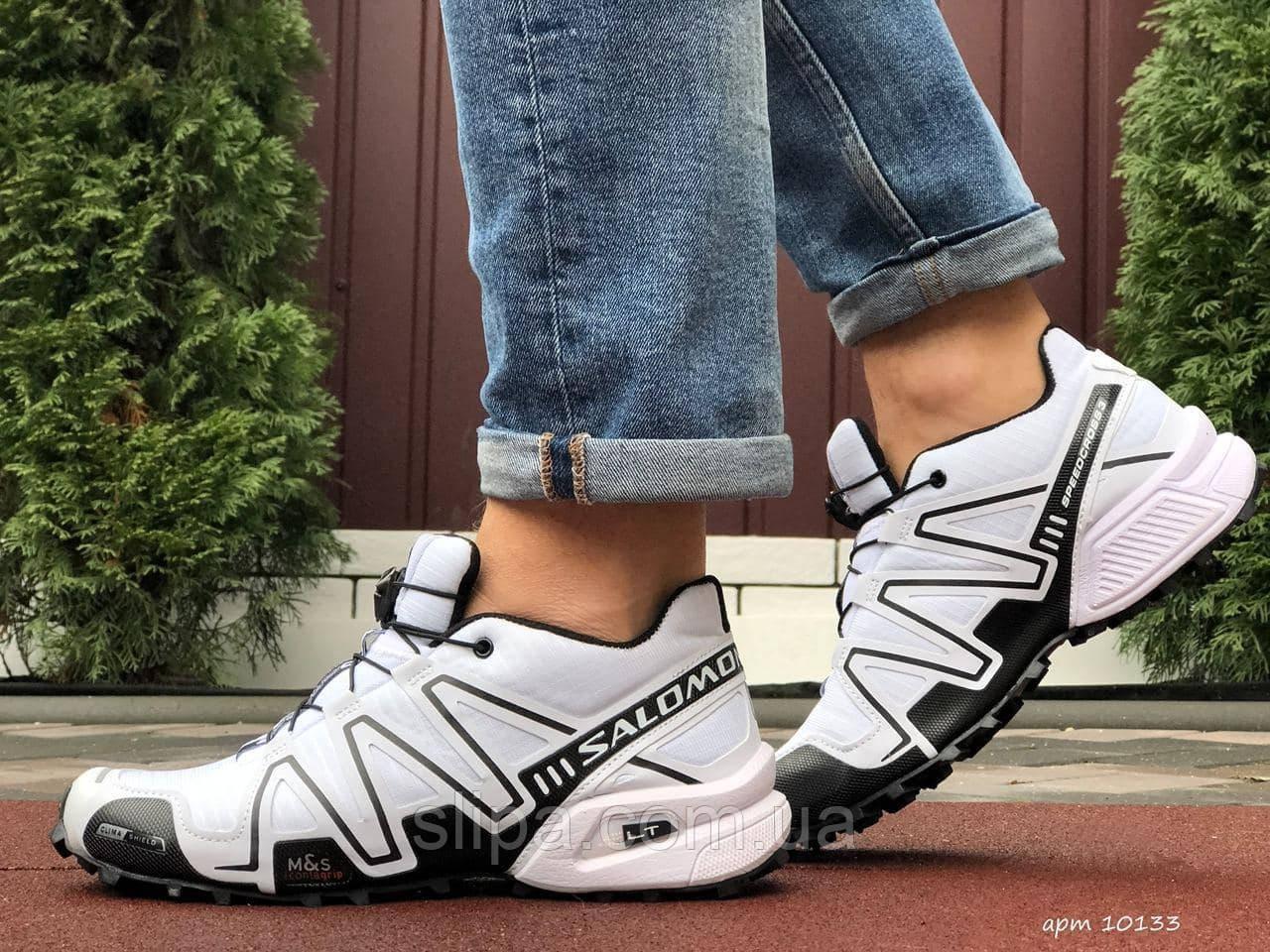 Мужские кроссовки Salomon Speedcross 3 белые