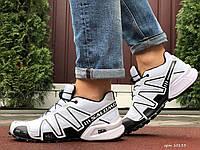 Мужские кроссовки Salomon Speedcross 3 белые, фото 1