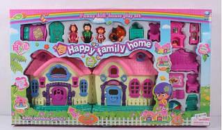 Будиночок 8043 (10) світло, звук, 3 ігрові фігурки, вихованець, з аксесуарами, в коробці