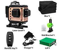 《МЕГА КОМПЛЕКТ》лазерный уровень AFABEITA 4D-360G зеленый луч