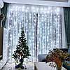 ᐉLEDᐉᐉ Гирлянда водопад, штора, занавес 3х2,5 м теплый белый или холодный белый цвет 400LED