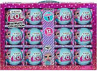 Набор из 12 штук Кукла ЛОЛ 1 серия L.O.L. Surprise! Ultimate Collection Merbaby, фото 1