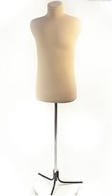 Пьер (48) в ткани (кремовый) для треноги