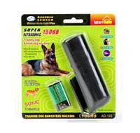 Ультразвуковой Отпугиватель Собак с Фонариком DRIVE DOG Черный (AD - 100)