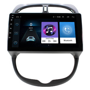 Штатная автомобильная магнитола Lesko для авто Peugeot 206 память 1/16 на Android GPS, фото 2
