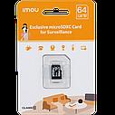 Оригинальная карта памяти Micro SD Card Imou S1 64GB class 10., фото 3