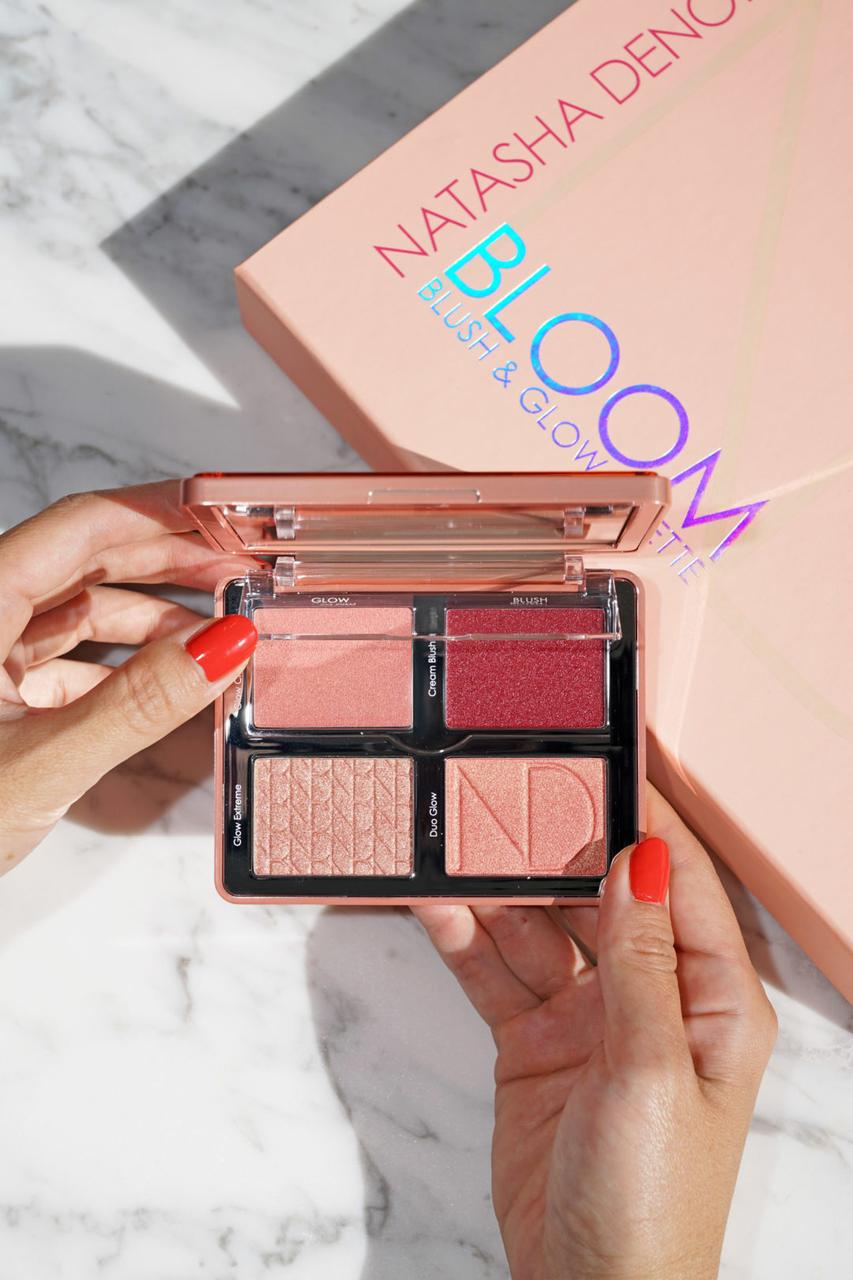 Палетка для лица Natasha Denona Bloom Blush & Glow Palette