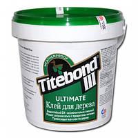 Профессиональный клей Titebond III Ultimate Wood Glue для дерева D-4 пром тара