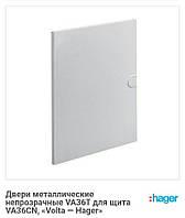 Двері металеві непрозорі для VA36CN Hager VOLTA