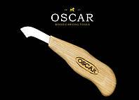 Нож топорик для резьбы по дереву OSCAR, фото 1