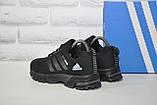 Кроссовки подростковые черные сетка в стиле Adidas Springblade унисекс, фото 3