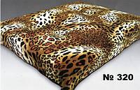 Плед акриловый Леопард 320