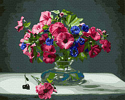Картина по номерам Букет садовых цветов 40х50 см, BrushMe (GX26362)