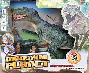 Интерактивная игрушка динозавр на радио пульте управления робот Dinosaur, фото 2