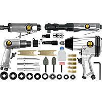 Набор пневматических инструментов Vorel 33 элементов (81142)