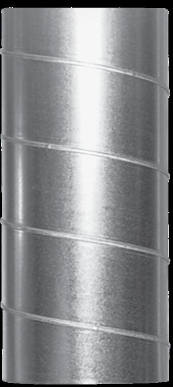 Воздуховод спирально-навивной d100/1