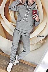 Спортивный костюм подростковый  теплый(42, 44, 46),трехнить (флис)