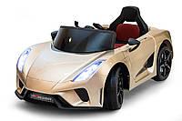 Електромобіль Just Drive LAMBO V12 - золотий