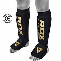 Накладки на ноги, защита голени RDX Soft Black M, фото 1