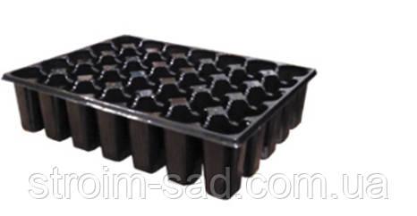 Кассета пластиковая с поддоном на 35 ячеек