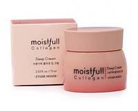 Зволожуючий колагеновий крем Etude House Collagen Moistfull 10 і 75мл (2020р), фото 1