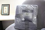 Плед з мікрофібри Bella Villa 180х200 см білий, фото 4