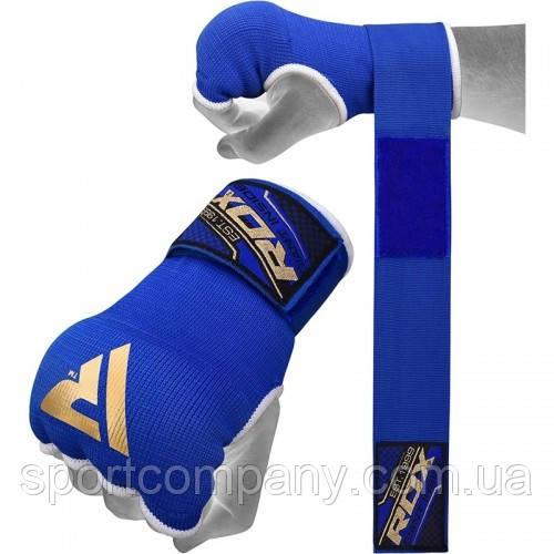 Бинт-перчатка RDX Inner Gel Blue XL