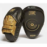 Лапы боксерские Leone Power Line Black, фото 1