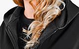 Дана. Жіноча куртка великих розмірів. Чорний., фото 7