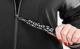 Дана. Жіноча куртка великих розмірів. Чорний., фото 9