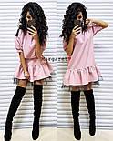 Красиве жіноче плаття костюмка і фатин (3 кольори), фото 2