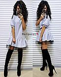 Красиве жіноче плаття костюмка і фатин (3 кольори), фото 4