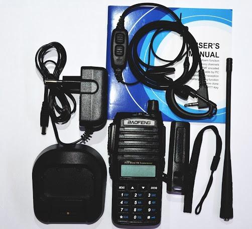 🔹Портативна рація Baofeng🔹 (Баофенг) UV-82 MK3 5 Ватт + гарнітура