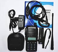 Портативная рация Baofeng (Баофенг) UV-82 MK3 5 Ватт + гарнитура