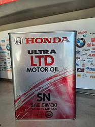 Моторное масло Honda 5w30