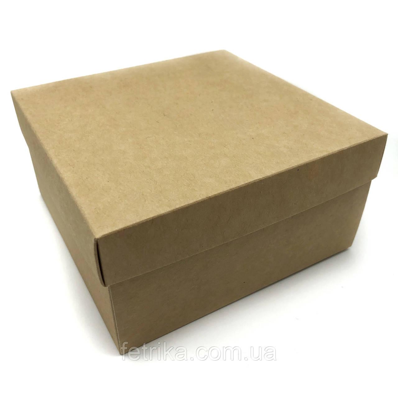 Коробка подарочная крафт 250*250*100 мм