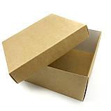 Коробка подарочная крафт 250*250*100 мм, фото 2