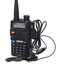 Радіостанція (Рація) Baofeng UV-5R UP -- потужністю передавача 8 Ватт (радіус до 10км)