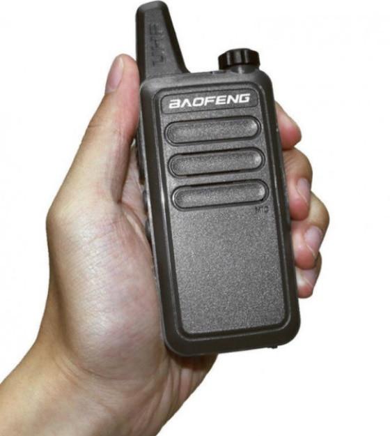 Рация BAOFENG BF-R5 / T7 400-470 МГц.16 каналов, micro USB зарядка