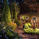 Набор садовых светильнико Факел [Flame Light] 6 шт с имитацией огня > на солнечной батарее > водонепроницаемый, фото 4