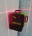 ☀RED ЛУЧ⇒30м☀Лазерный уровень Huepar 3D HP-603CR ➤ li-on-аккумулятор 2 шт➤, фото 3